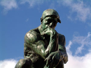 Thinker, Rodin Museum, Paris