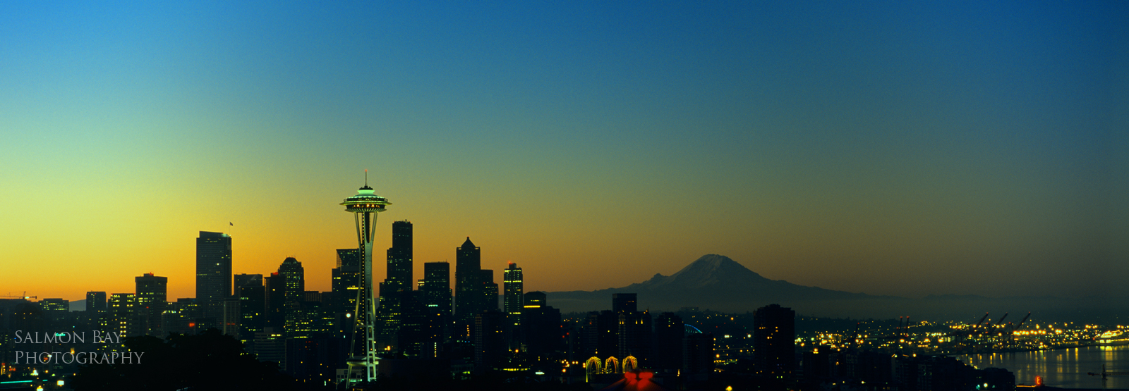 seattle skyline wallpaper 2