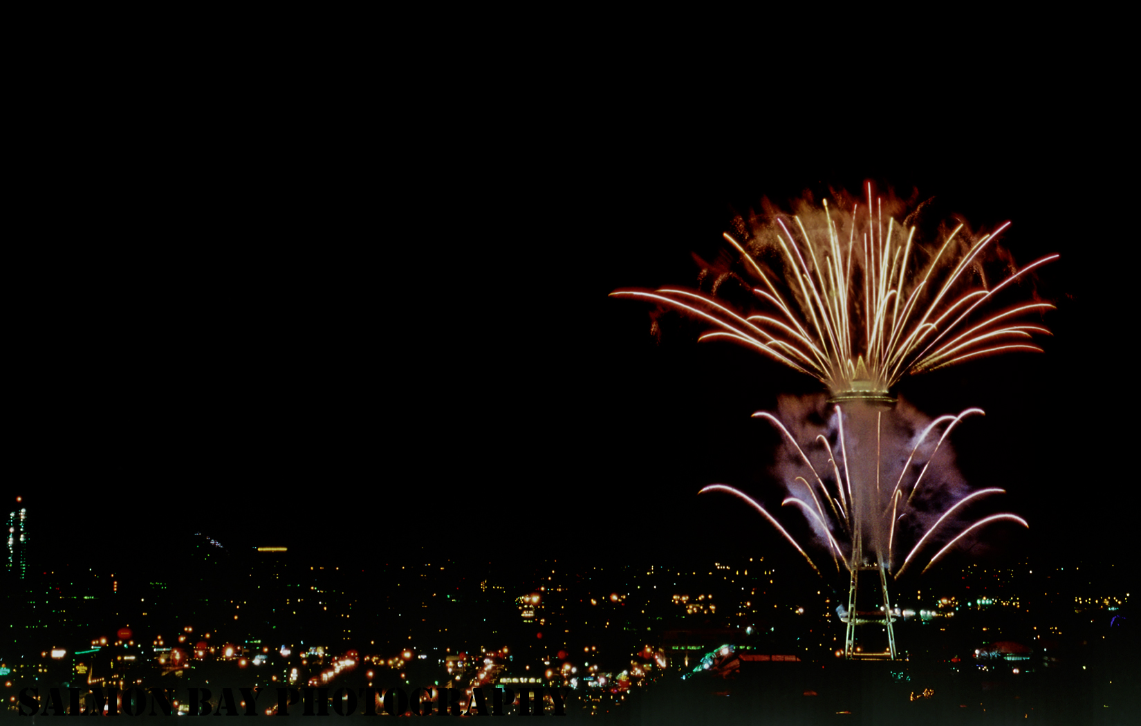 Space Needle, New Year